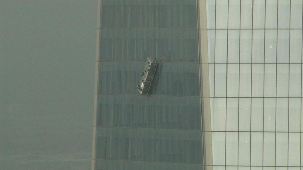 Así ha sido el rescate de los trabajadores atrapados en el WTC