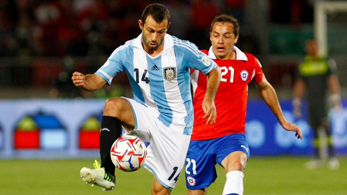La Selección chilena podría enfrentar a Argentina en marzo