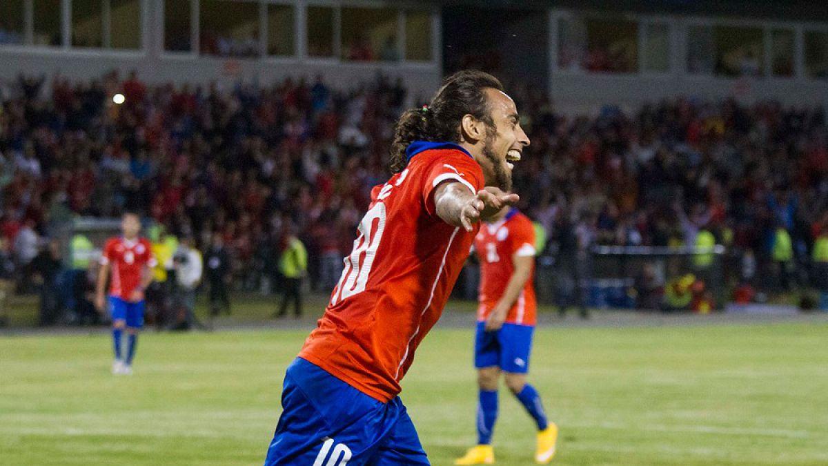 Uno a uno: Chile volvió a brillar de la mano de un inspirado Jorge Valdivia