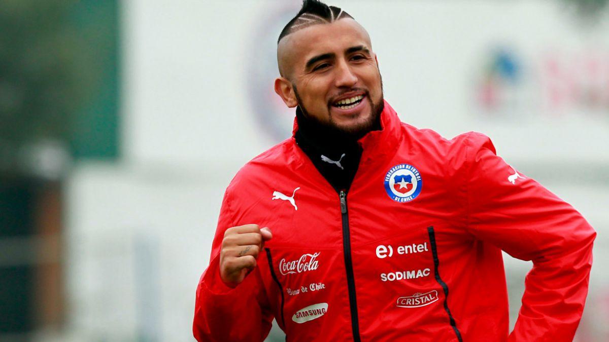 Vidal: Nos propusimos quedarnos con la Copa América porque es en nuestro país
