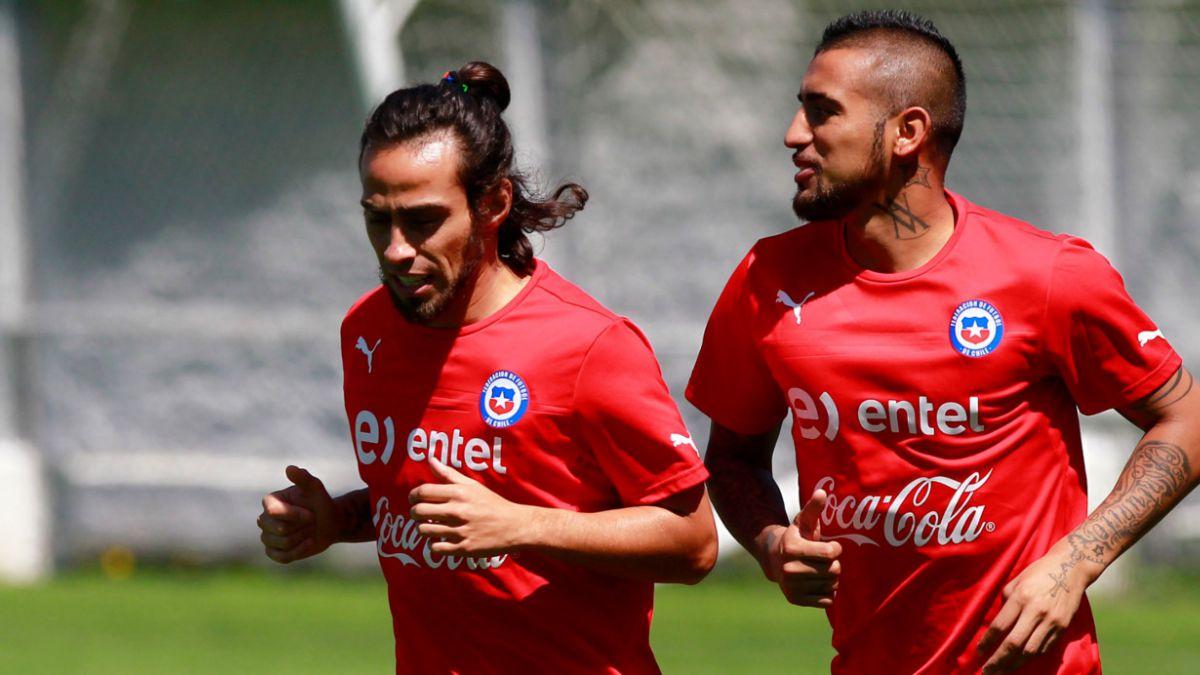 La alineación de la Selección chilena para enfrentar a Uruguay