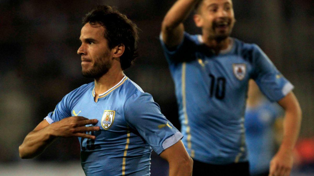 González explica su festejo en el segundo gol de Uruguay: le molestaron los ole