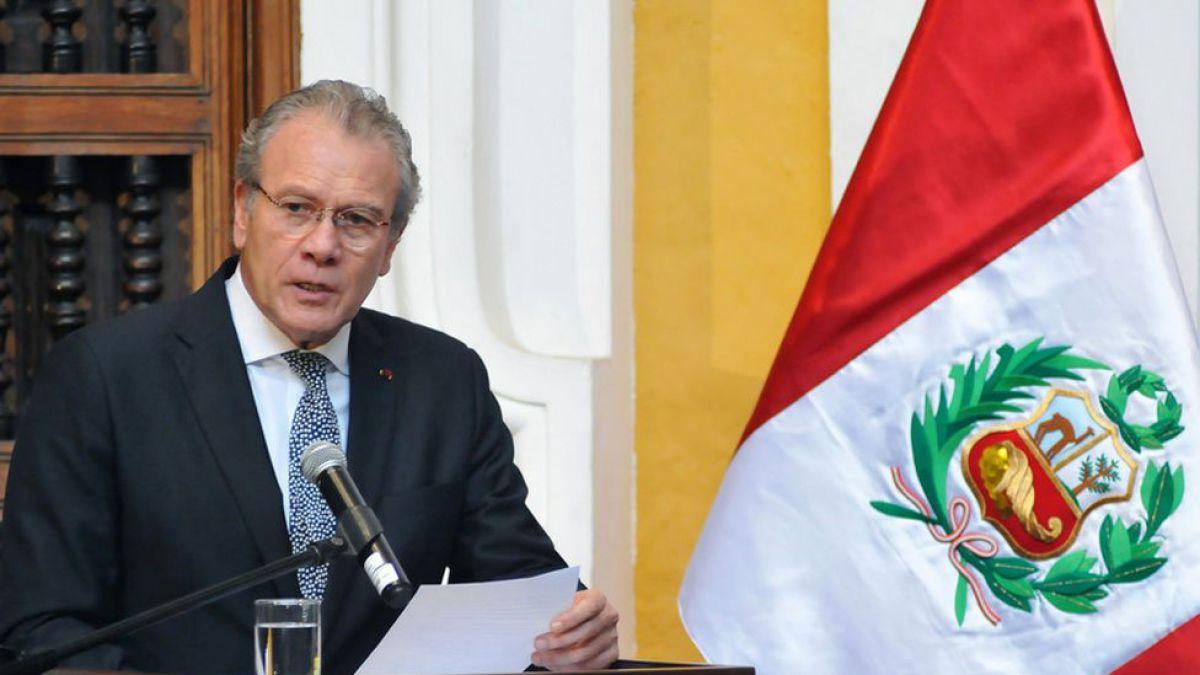 Canciller peruano aclara que no ha tomado partido en demanda boliviana contra Chile
