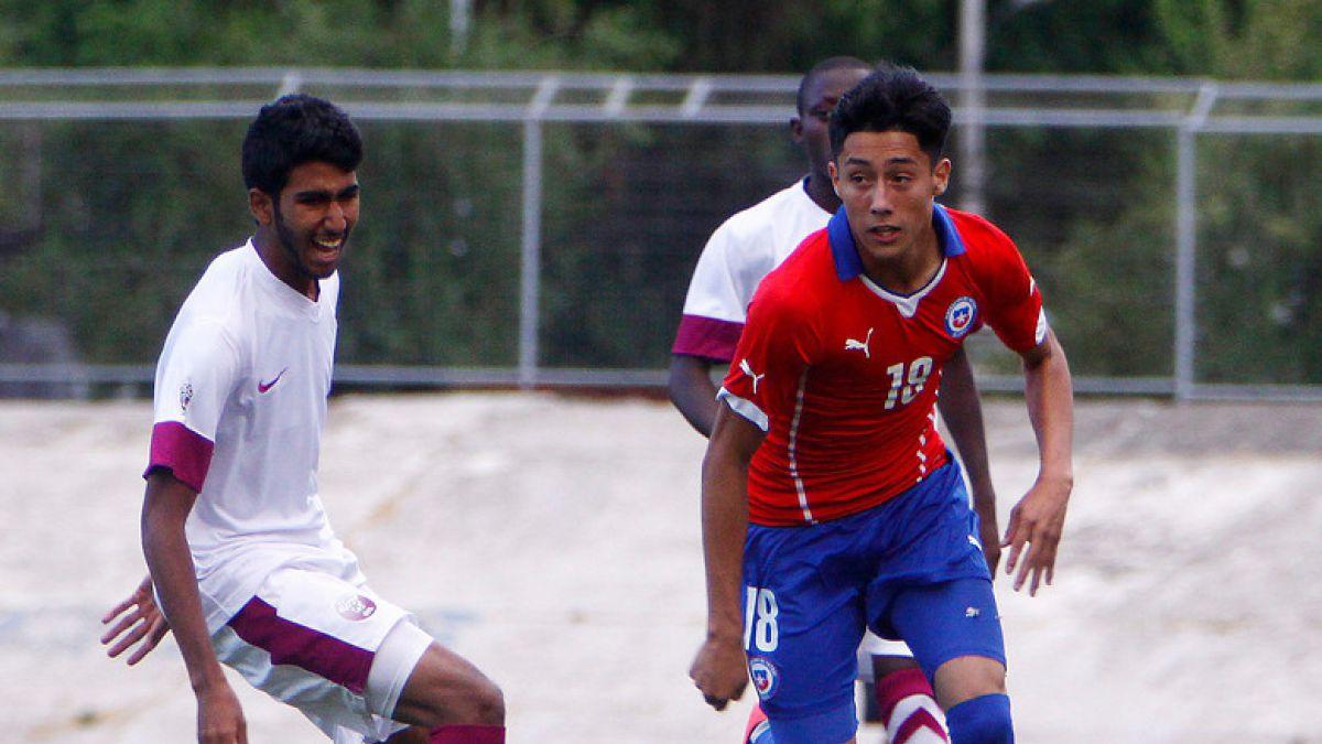 La Roja sub 17 derrotó por 3 a 1 a Qatar en duelo preparatorio para el Mundial de 2015