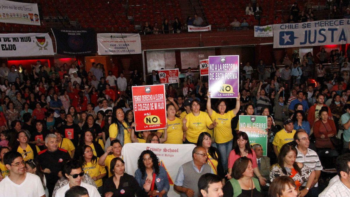 Confepa a Bachelet: Por favor póngase en nuestro lugar, usted también es mamá