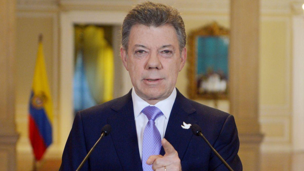 """Presidente de Colombia: """"No hay ningún complot"""" contra Venezuela"""