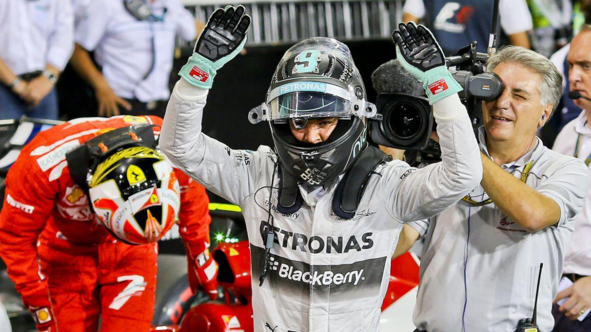 Rosberg logra la pole y peleará el Mundial con Hamilton este domingo
