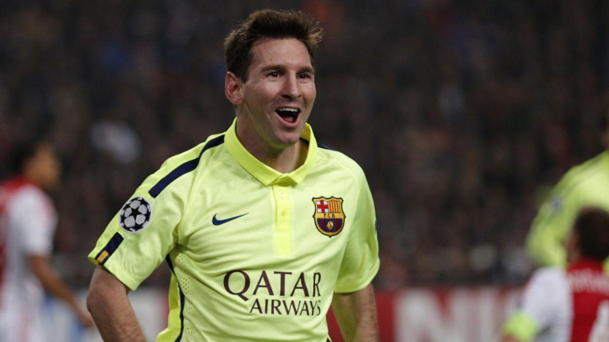 Messi se convierte en el máximo goleador en la historia de la liga española