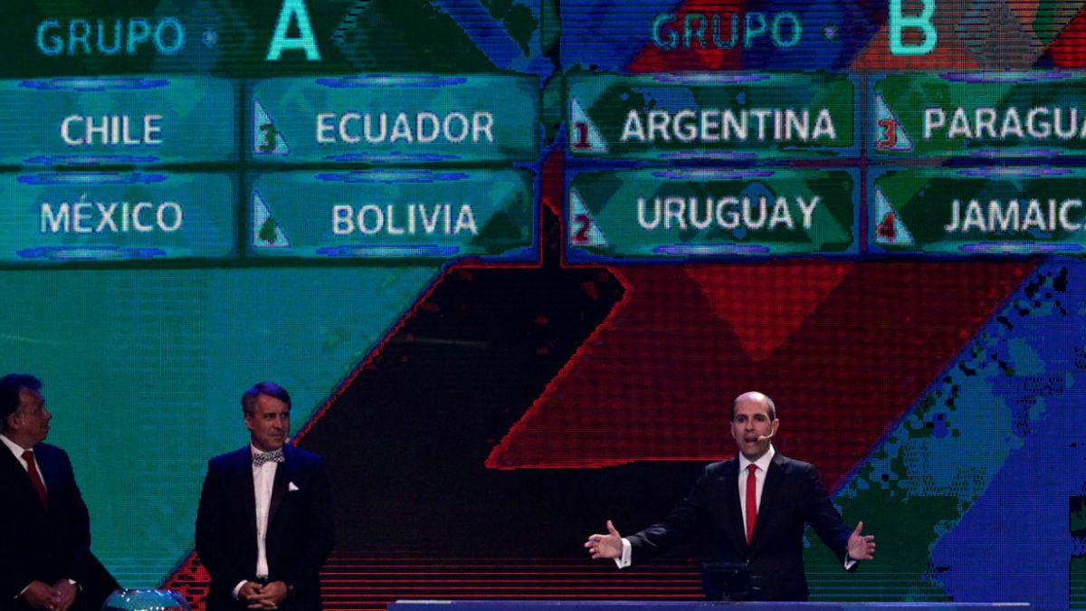 [Minuto a minuto] México, Ecuador y Bolivia en el grupo de Chile
