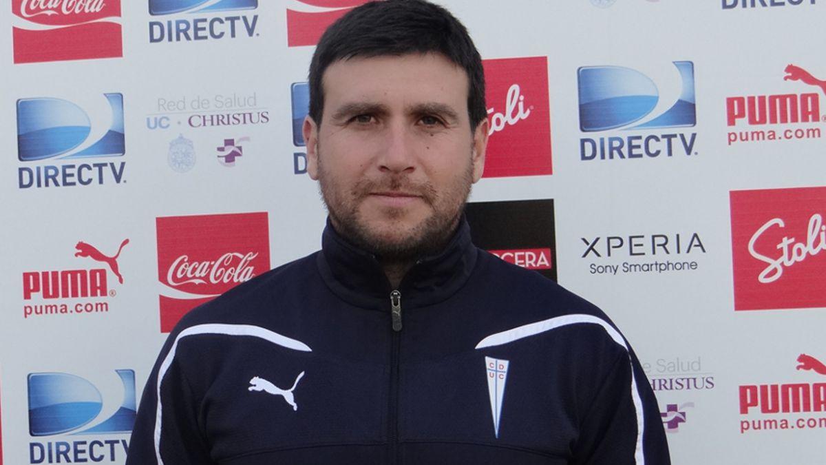 Patricio Ormazábal: Estoy feliz y orgulloso de ser entrenador de la UC, porque soy de la Católica