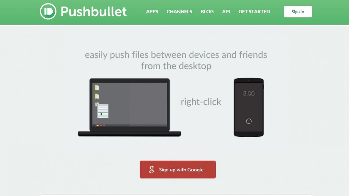 #Appdelasemana: Pushbullet, un cañón para enviarse links entre amigos y equipos
