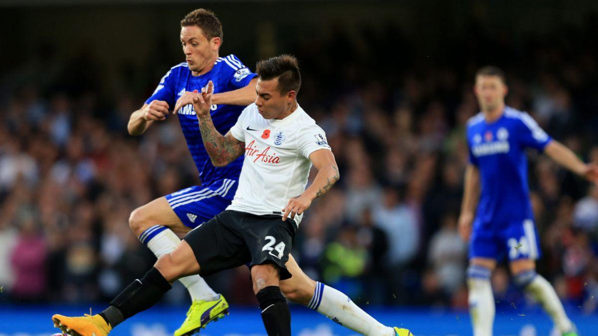 Isla y Vargas celebran victoria del Queens Park Rangers en la Premier League