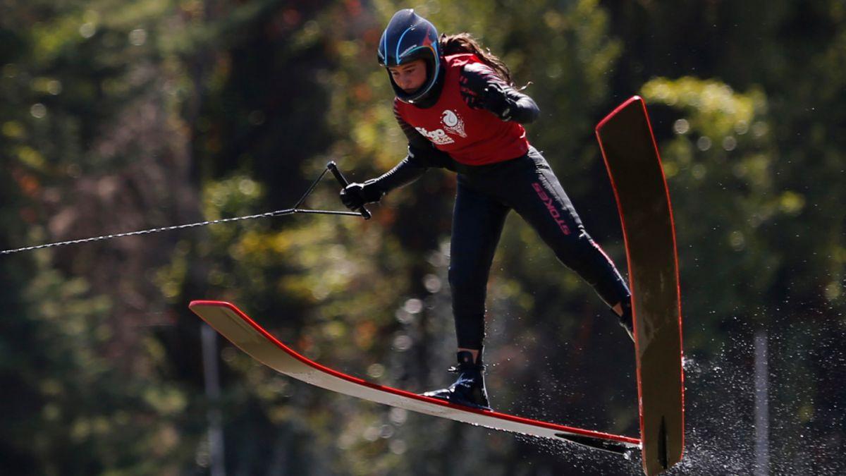 Esquí Náutico: Valentina González y Rodrigo Miranda ganan oro en Latinoamericano