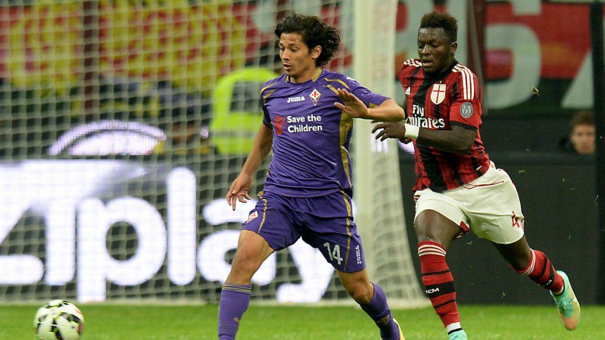 [VIDEO] Matías Fernández fue figura en goleada del Fiorentina ante el Cagliari