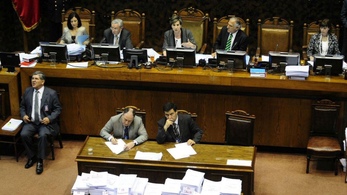 Senado vota hoy proyecto de fin al lucro, al copago y a la selección