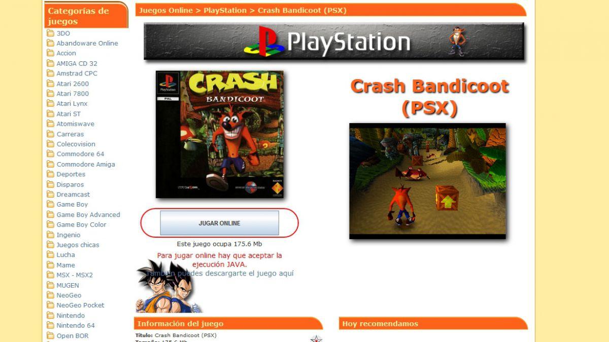 Cómo jugar los viejos clásicos de la PlayStation original