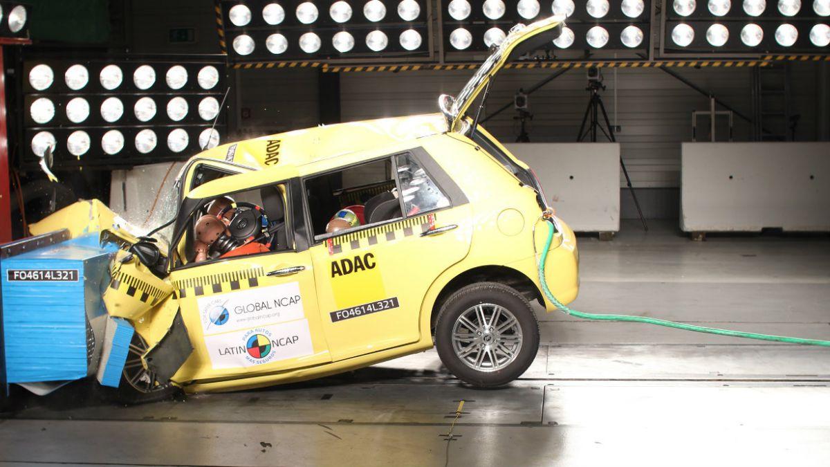 Test de LatinNCAP califica a automóvil Lifan 320 como uno de los menos seguros de la región