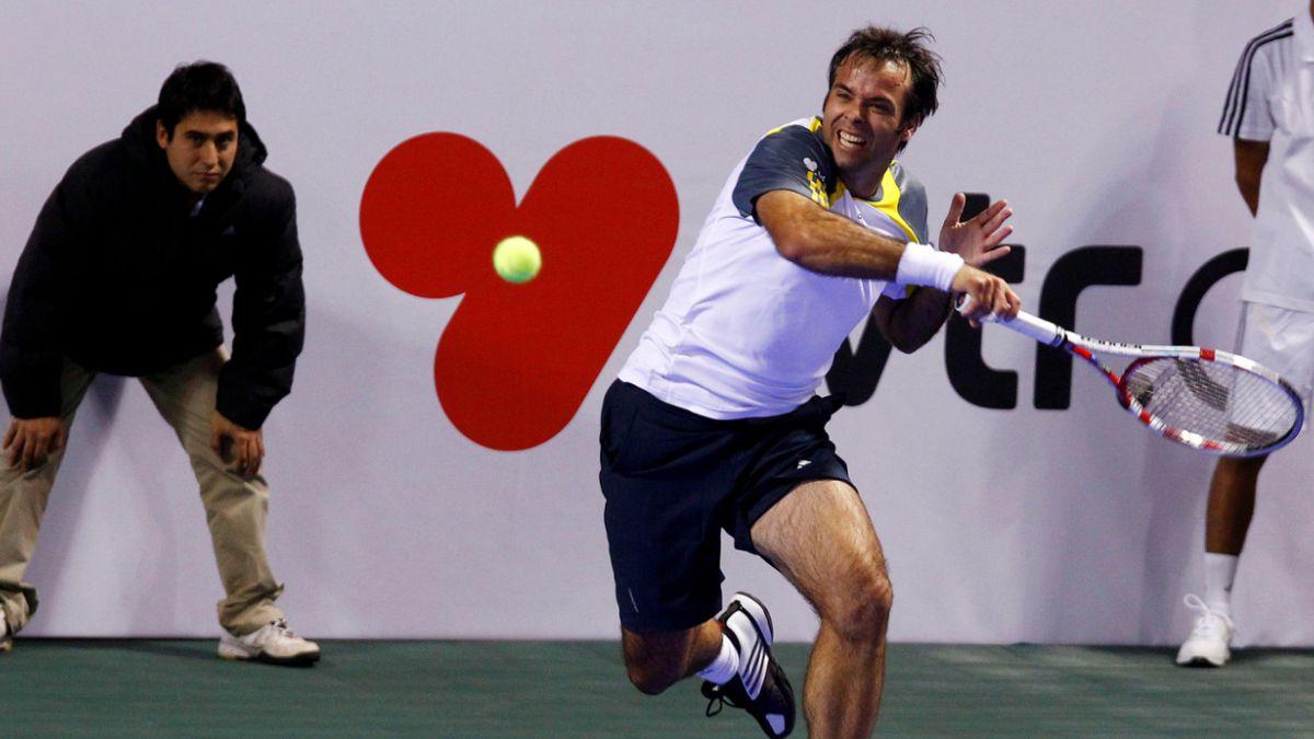 Fernando González vence a Thomas Enqvist en el Statoil Masters Tenis 2014