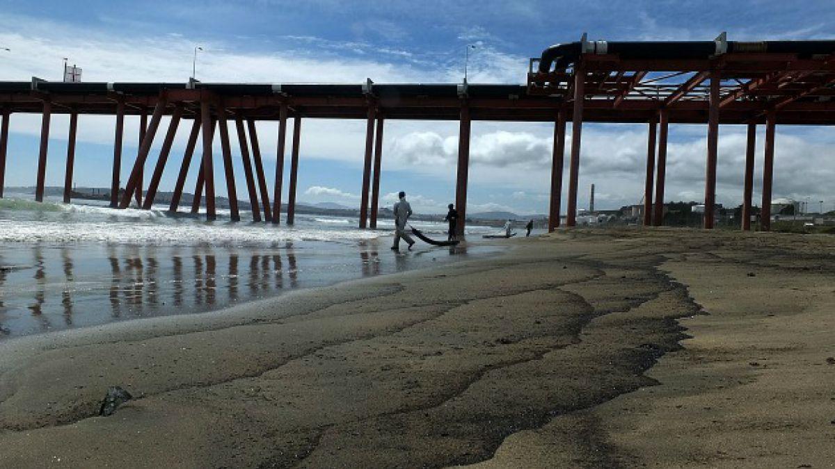 Quintero: Armada revela que derrame de petróleo superó los 38 mil litros