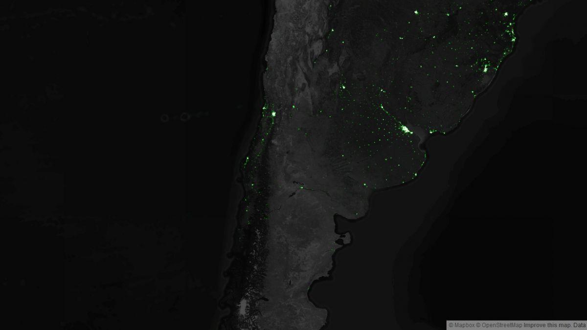 Mapa muestra en qué lugares del mundo se tuitea más