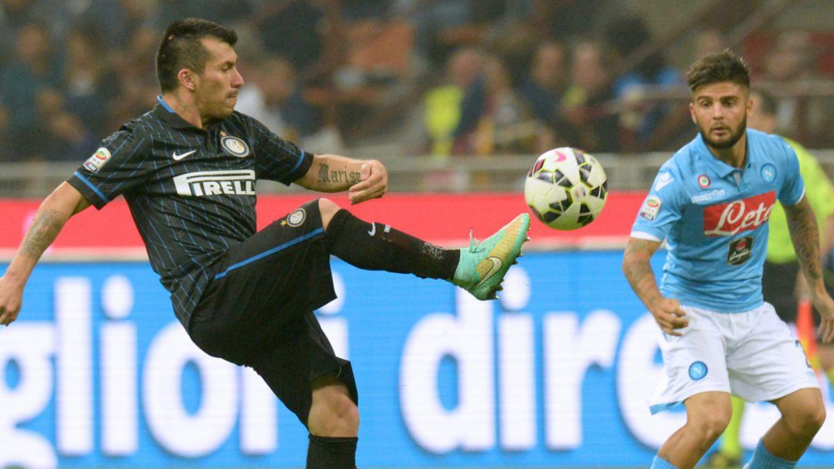 Inter con Gary Medel como titular cae de local ante el Udinese