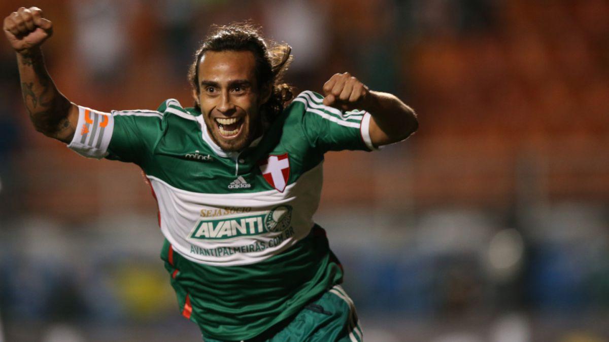 Jorge Valdivia descarta regreso a Colo Colo y seguirá en Palmeiras