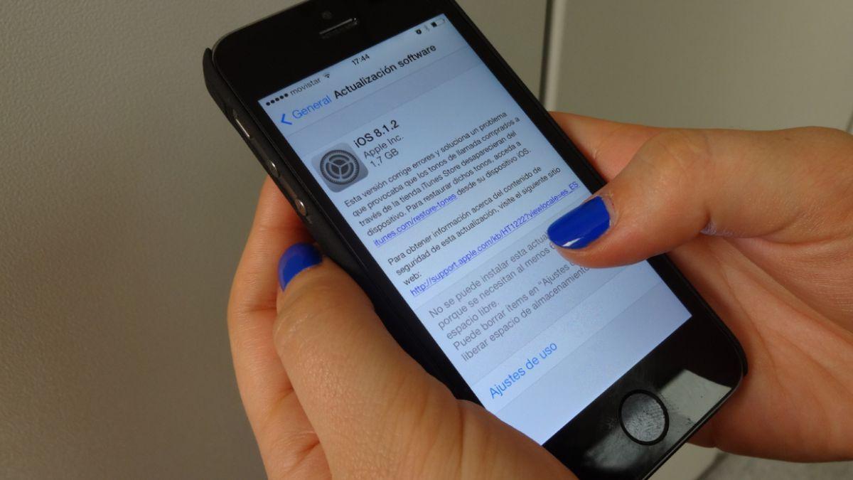Apple lanzó actualización de iOS que soluciona error en los ringtones