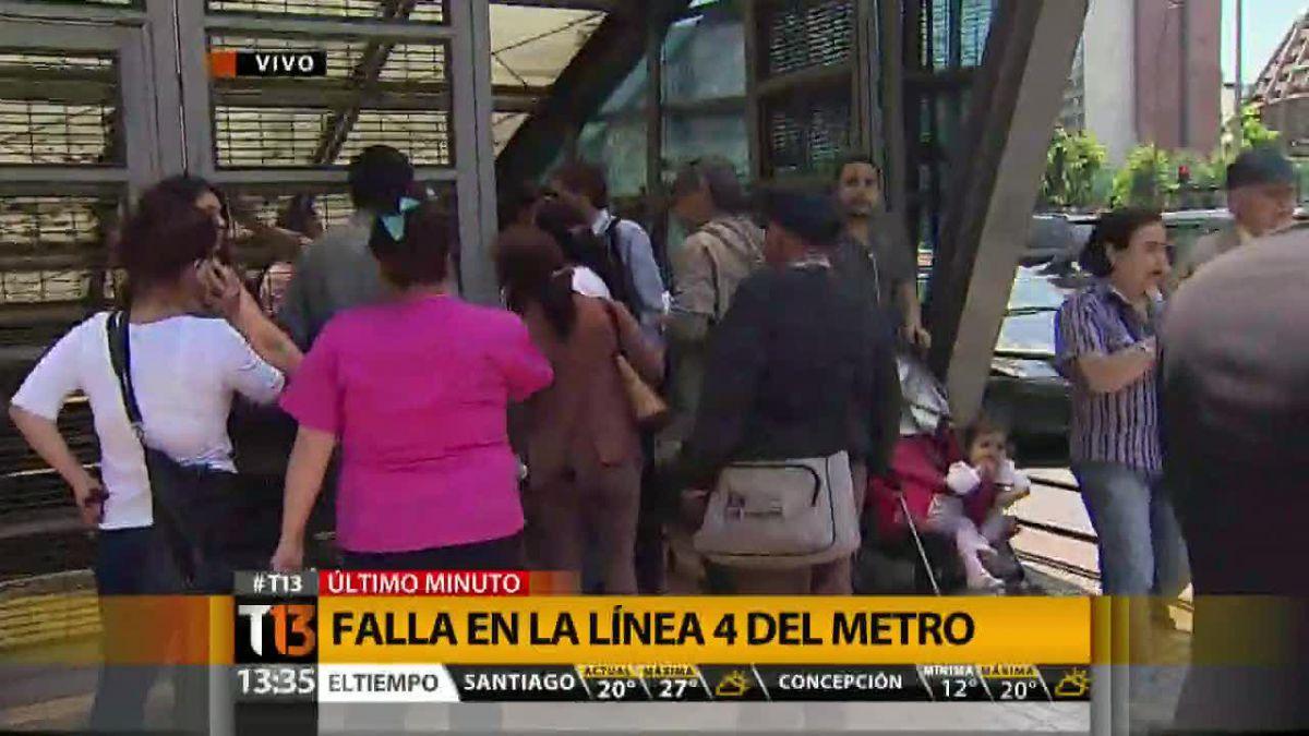 Metro informa normalización de servicio en Línea 4