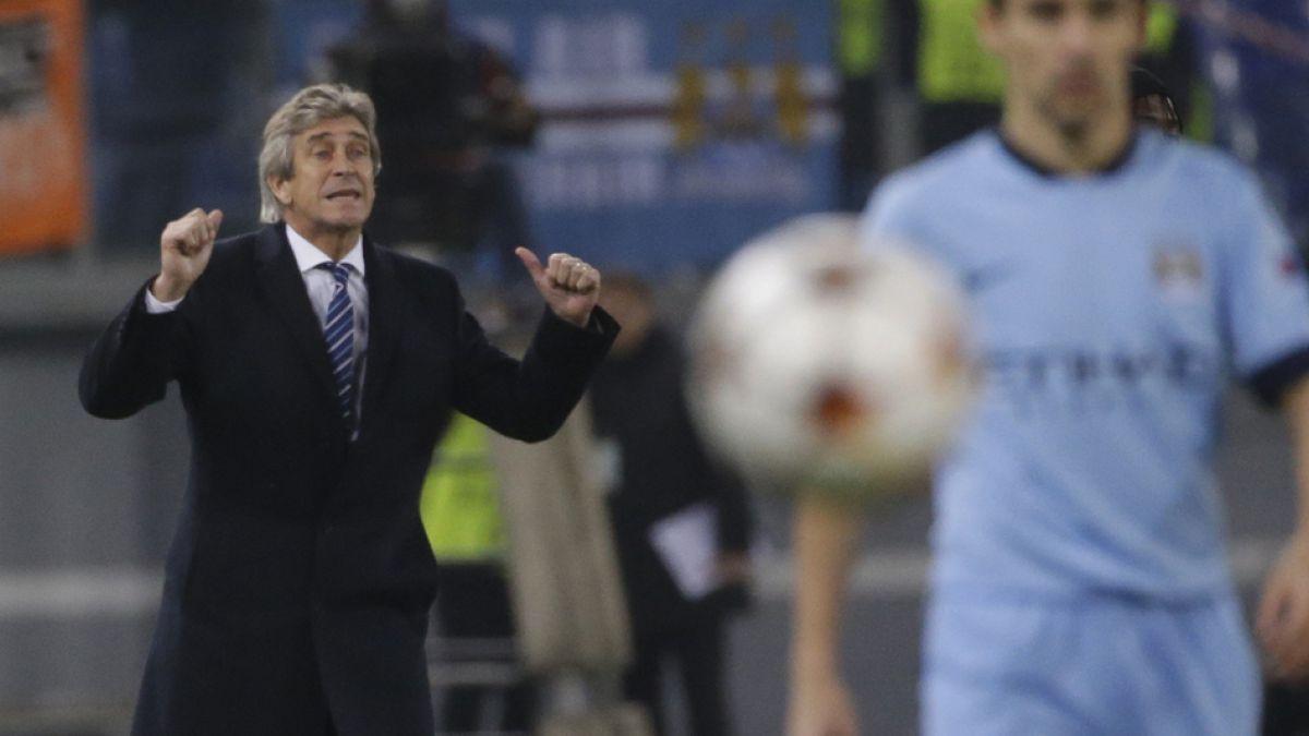 Manchester City de Manuel Pellegrini clasificó a octavos de final de la Champions League