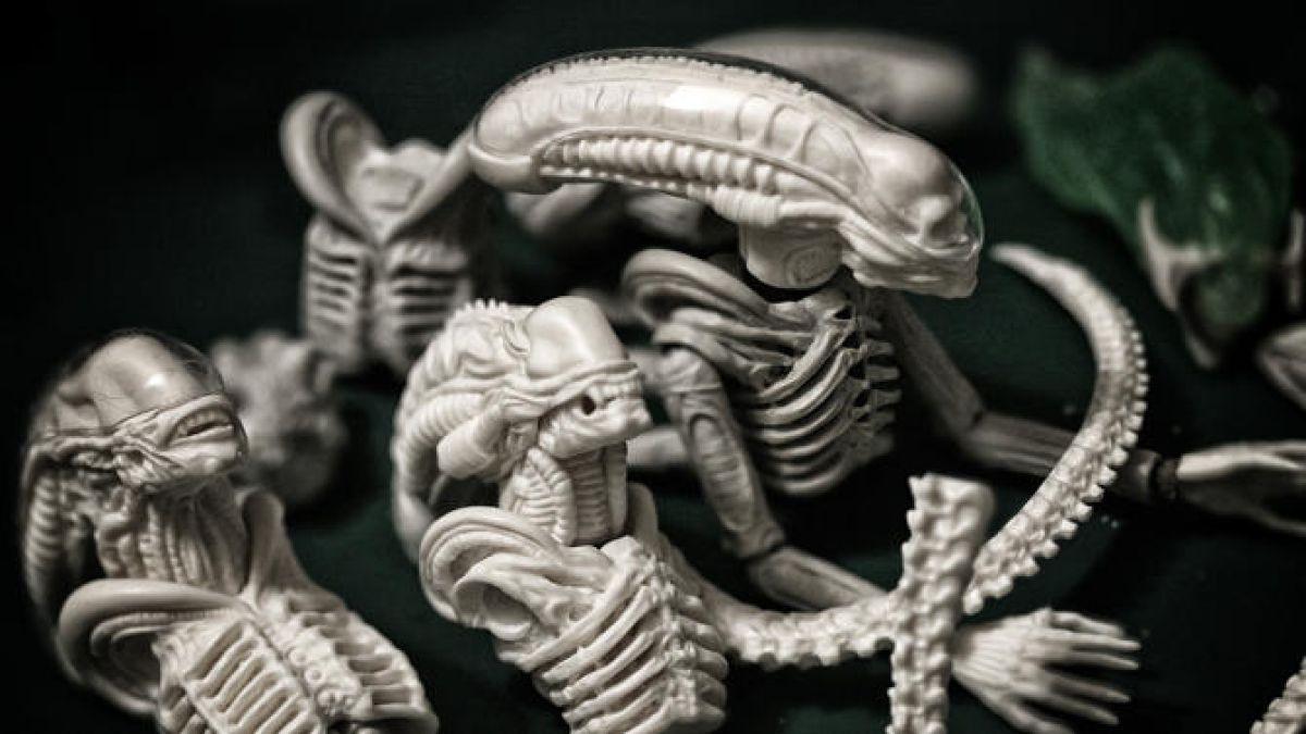 """Las impresionantes y realistas figuras de """"Alien"""""""