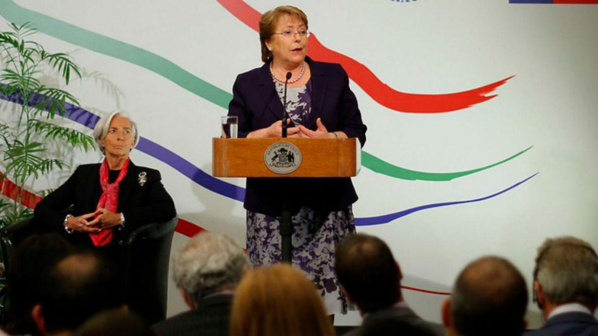 Bachelet: Mi primer sentido fue partamos por la educación pública