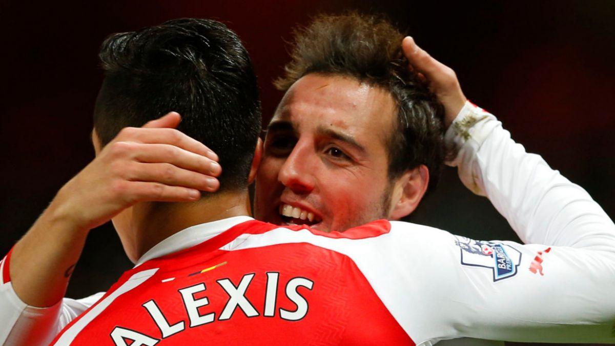 Alexis Sánchez es figura en aplastante triunfo del Arsenal sobre el Newcastle