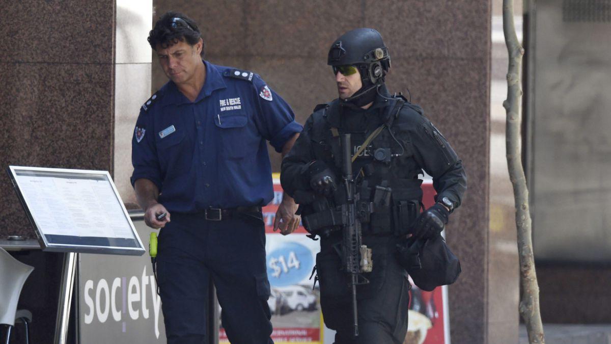 [FOTOS] Así se vive crisis de rehenes en el centro de Sidney