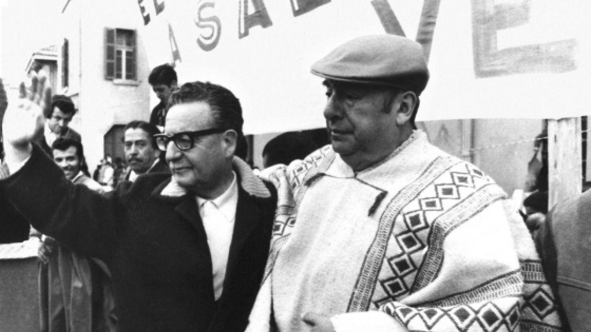 Publican cartas inéditas entre Salvador Allende y Pablo Neruda