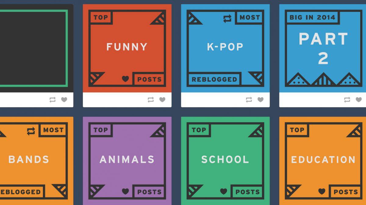 Tumblr eligió los mejores posteos del año