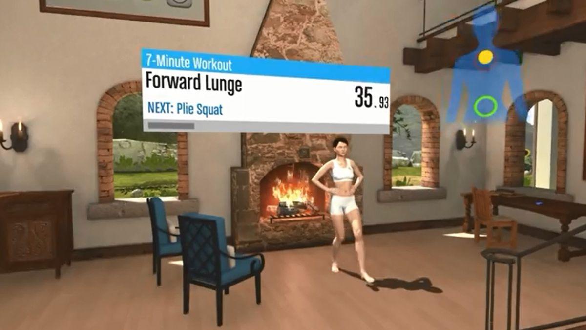 Lentes de realidad virtual ayudarán a hacer ejercicios