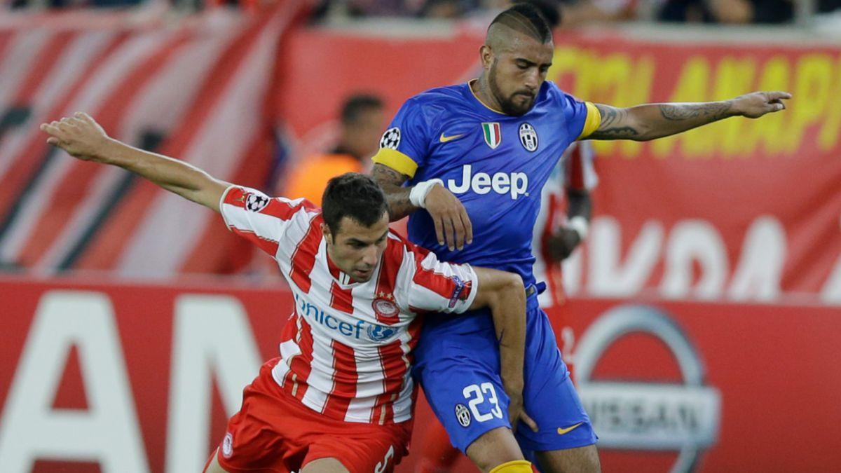 Vidal sin perdón en Italia tras perder un penal