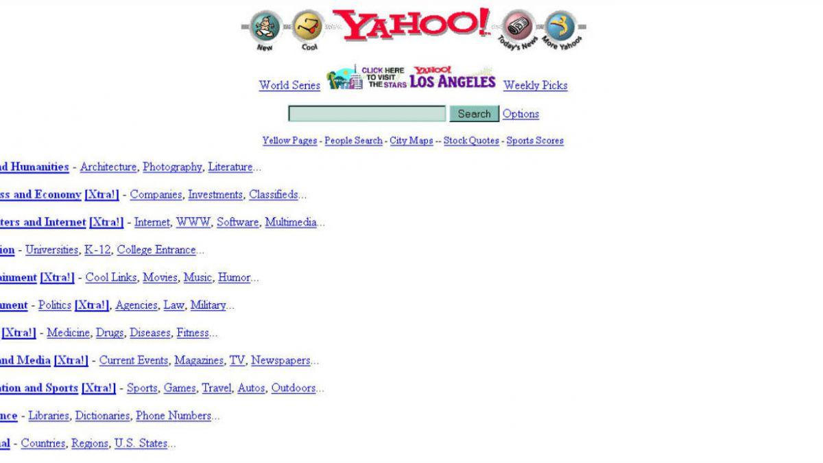 De Geocities a Linkedin: los sitios más populares desde 1996