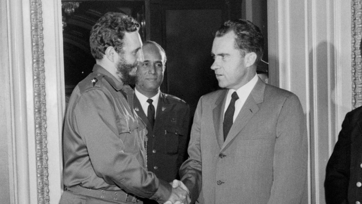 [FOTOS] La relación de Fidel Castro con Estados Unidos