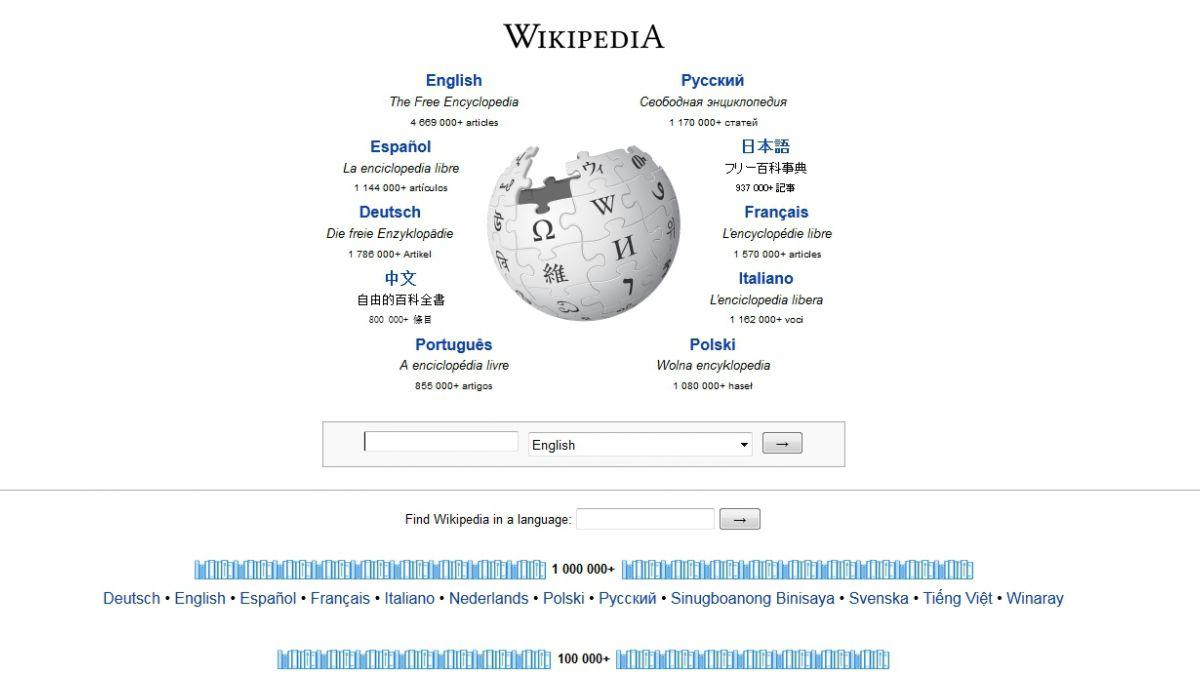 Wikipedia realizó video con lo más editado del año