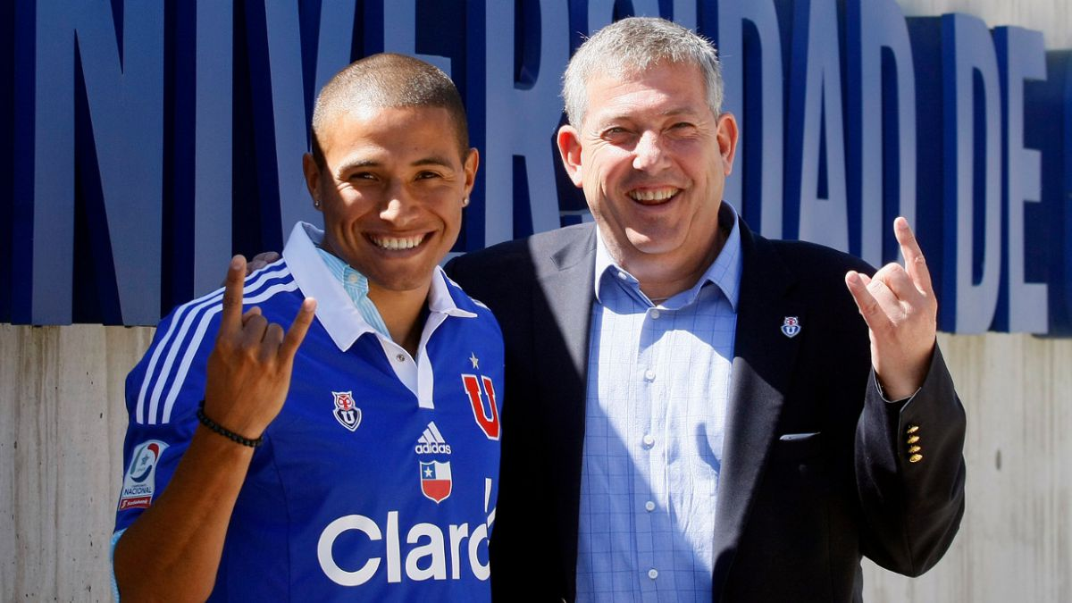 Leandro Benegas tras ser presentado en la U: Haré lo imposible para estar a la altura del club