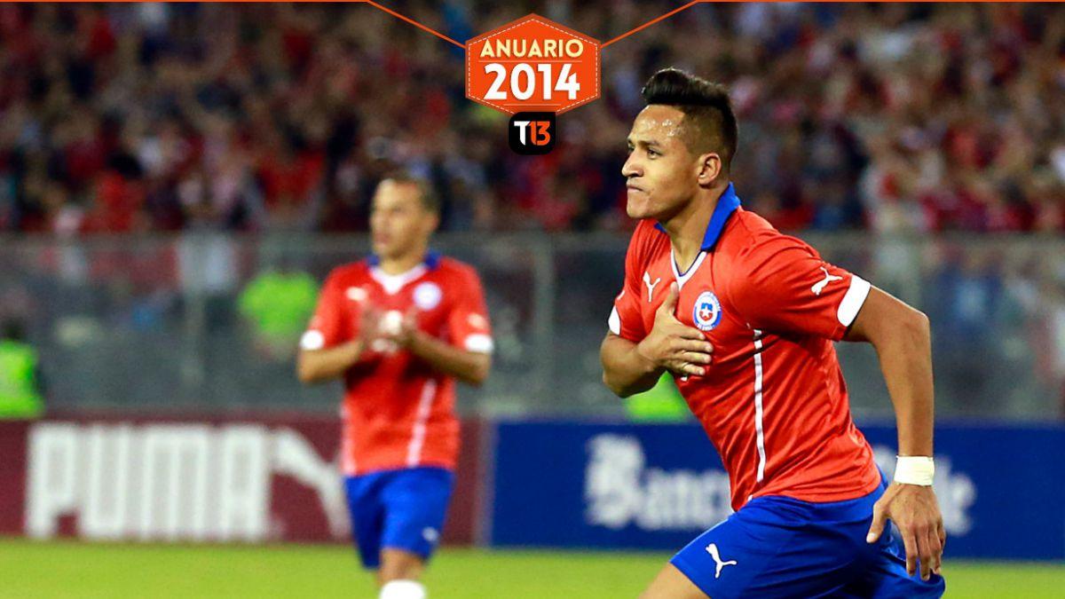 Los cinco chilenos que triunfaron en el fútbol extranjero este 2014