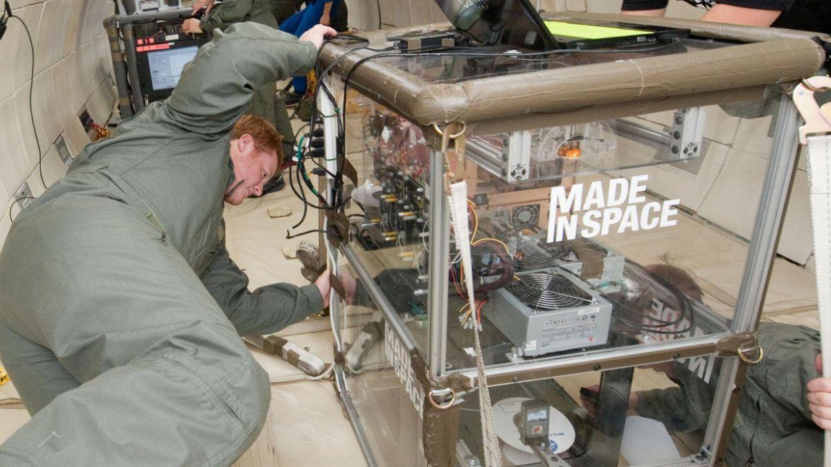 Impresora 3D de Estación Espacial fabrica sus propios respuestos