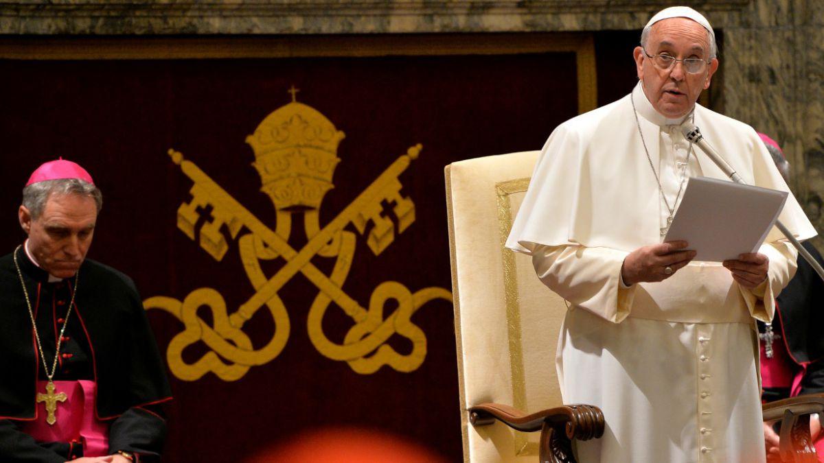 Las 15 enfermedades del gobierno de la Iglesia, según el Papa