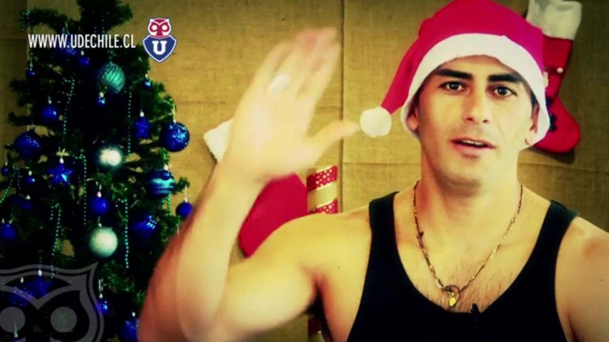 [Video] Johnny Herrera envía saludo navideño a hinchas de la U
