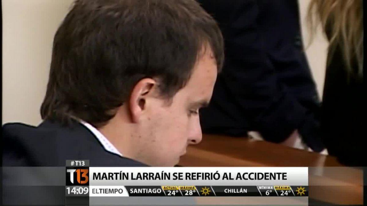 Martín Larraín: Sobrellevar el accidente es muy difícil y doloroso