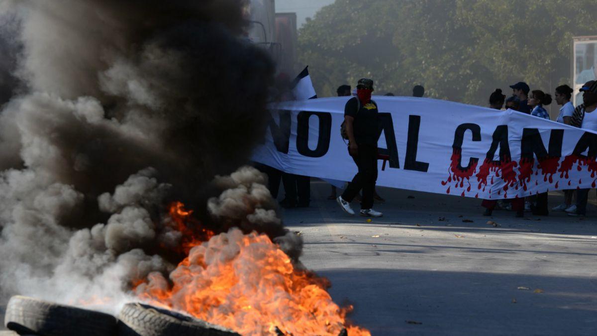 En medio de protestas, Nicaragua inaugura obras de canal interoceánico