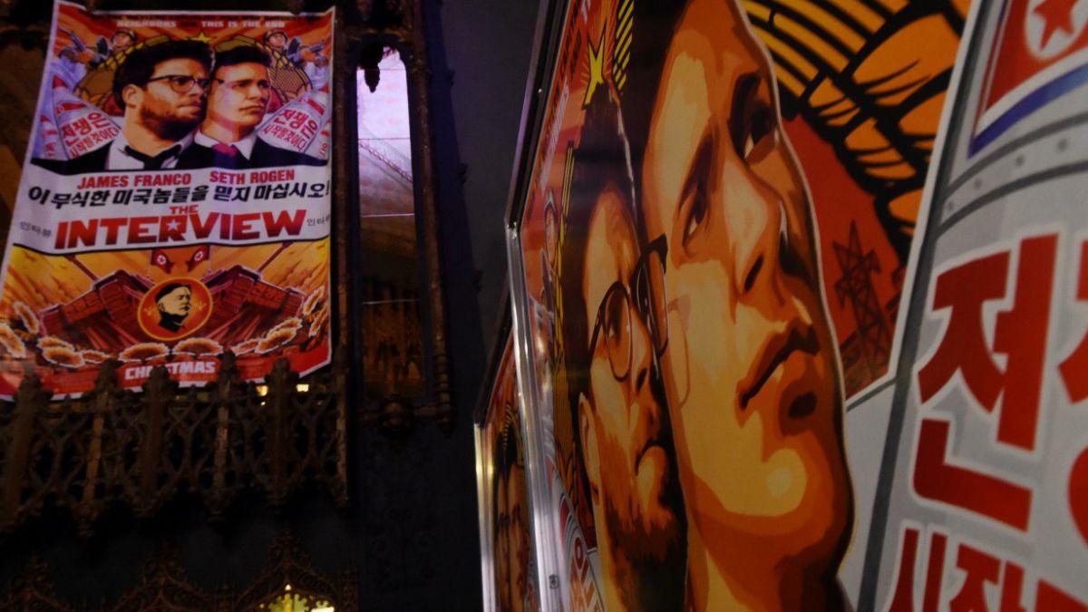 Dos salas de EE.UU. exhibirán película satírica sobre Corea del Norte