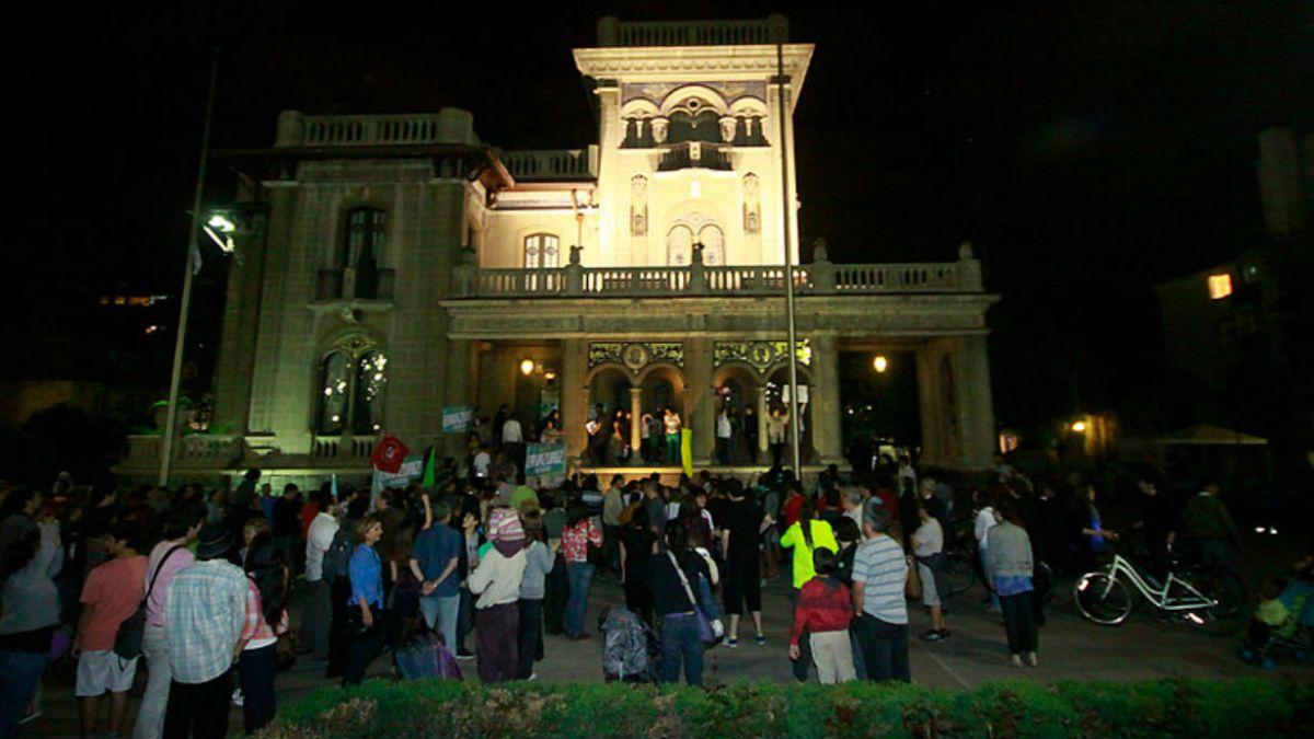 Alianza recurre a Contraloría por matrimonio en edificio municipal de Providencia