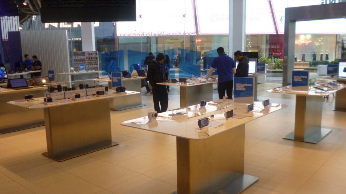 Samsung cerró su tienda emblemática en Londres